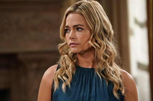 Denise Richards will work with her husband on The Bold and the Beautiful love scenes. Photo courtesy of CBS