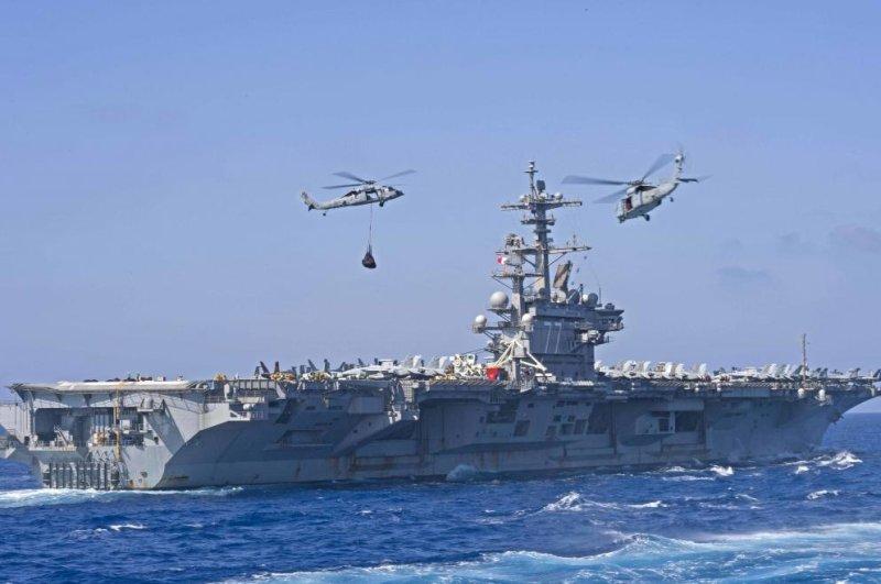 Uss George H W Bush Carrier Strike Group Completes Saxon Warrior