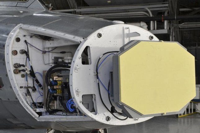 The APG-83 Scalable Agile Beam Radar fire control system, which is being considered for several types of fighter aircraft. Photo courtesy of Northrop Grumman