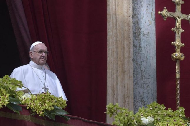 Pope Francis defrocked a Chilean priest accused of sex abuse Friday. File Photo by Stefano Spaziani/UPI | License Photo