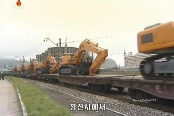 North Korea has yet to resolve major transportation issues facing its railroad system, months after a flood led to severe damage to state infrastructure. File Photo screenshot of KCTV