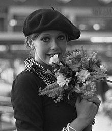 1973 photo of Sylvia Kristel courtesy of Wikipedia.