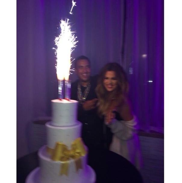 Khloe Kardashian and French Montana (Instagram)