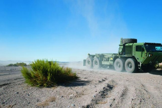 Oshkosh Defense has received a $23.5 million contract to recapitalize, or refurbish, U.S. Army vehicles in the Heavy Expanded Mobility Tactical Truck series. Photo courtesy of Oshkosh Defense