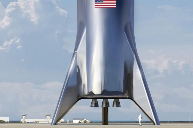 SpaceX is building a stainless steel rocket, the Starship, as its next-generation launch vehicle and spacecraft. Photo courtesy of SpaceX