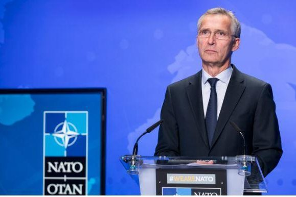 NATO Secretary General Jens Stoltenberg told the Center for European Policy Analysis on Monday that the military bloc needs to partners with other like-minded countries to deal with China. Photo courtesy of NATO