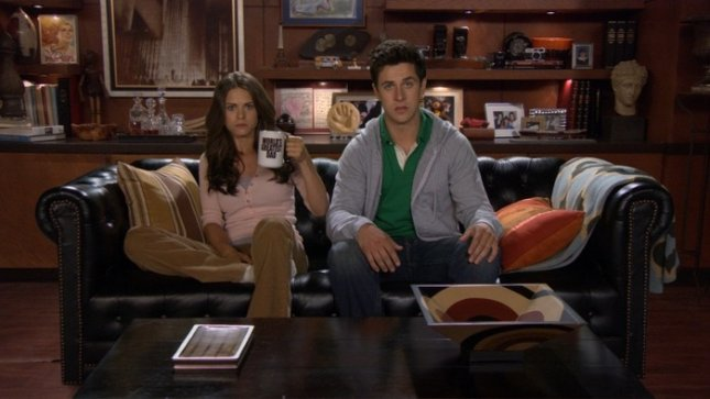 Image of Lyndsy Fonseca and David Henrie from How I Met Your Mother, courtesy of CBS.
