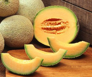 Cantaloupes, courtesy of the U.S. Department of Agriculture.