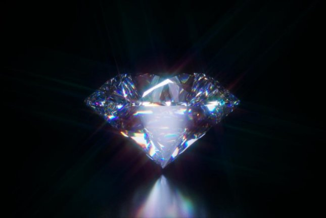 Scientists successfully teleported and stored quantum information inside a diamond. Photo by Pixabay/CC