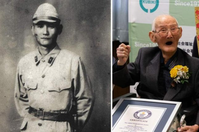 Chitetsu Watanabe died Sunday at age 112, less than two weeks after being awarded a Guinness World Records certificate as the oldest living man. Photo courtesy of Guinness World Records