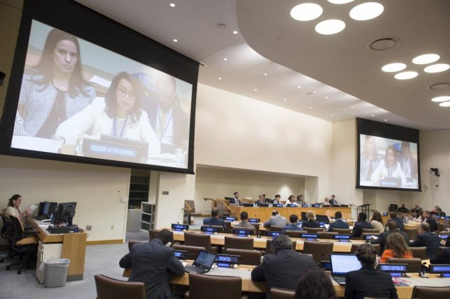 United Nations adopts draft treaty on nuclear weapons ban
