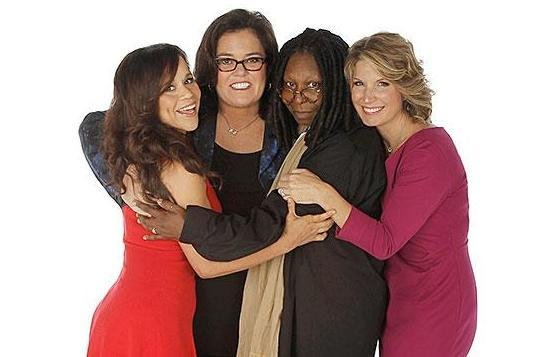 Rosie Perez, Rosie O'Donnell, Whoopi Goldberg and Nicolle Wallace for The View. ABC