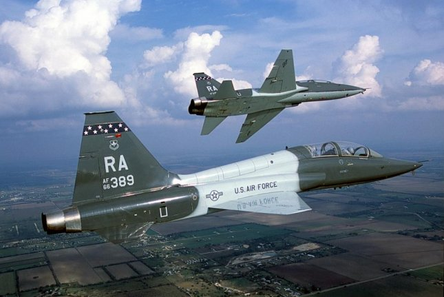 The U.S. Air Force's T-X program seeks to replace the Northrop T-38 Talon training aircraft. U.S. Air Force photo by Sgt. Jeffrey Allen