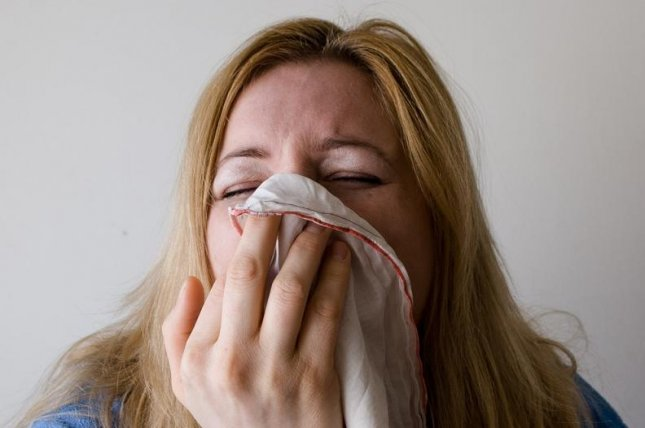 While some remedies can ease coughing, researchers say that virtually none -- purchased products or home remedies -- can fully be recommended as a remedy for a tough cough. Photo by Mojpe/Pixabay