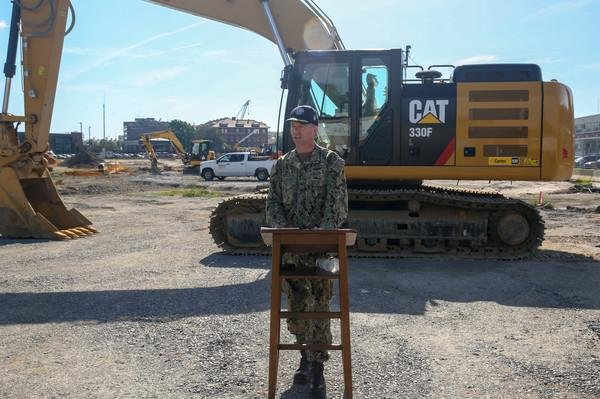 Norfolk Naval Shipyard breaks ground on production training