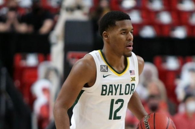 Jared Butler led Baylor with 21 points and seven assists against the Gonzaga Bulldogs. Photo courtesy of Baylor Athletics
