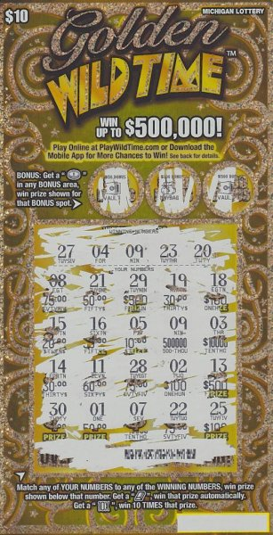 Lucky number' nine credited with woman's $500,000 lottery scratch