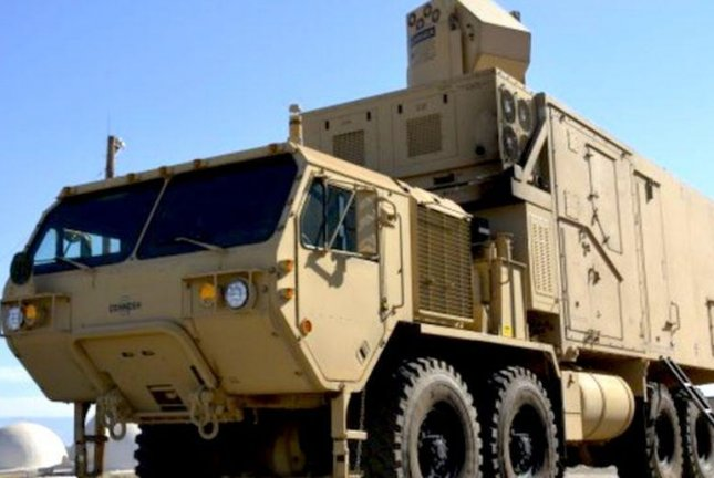 A High Energy Laser Mobile Tactical Truck undergoes testing by the U.S. Army. Photo courtesy of U.S. Army Test and Evaluation Command
