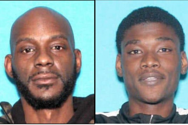 Larry Edward Teague (L), 44, and Ramonyea Bishop, 23, face first-degree murder charges in the shooting death of a Flint, Mich., security guard after an altercation about wearing a face mask in a dollar store. Photo courtesy of Genesee County District Attorney's Office