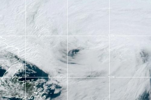 Hurricane Larry was expected to weaken to a tropical storm Saturday afternoon. Photo courtesy of NOAA