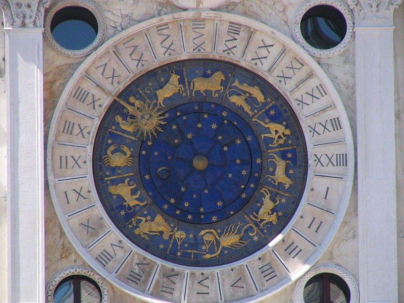 An astronomical clock in Venice, courtesy of Marcelo Teson.