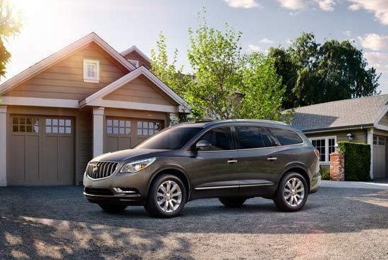 The popular the 2008-13 Buick Enclave crossover SUV is one of the vehicles that has been recalled. (Credit:Buick)