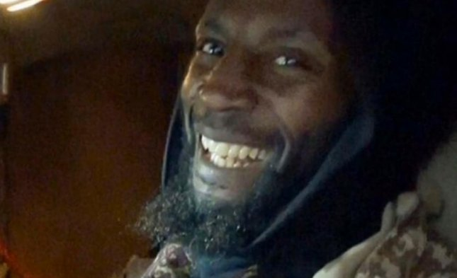 The suicide bomber identified as Abu-Zakariya al-Britani by the Islamic State as being responsible for a blast at a Mosul army base this week was confirmed by family members as being British-born Ronald Fiddler, who later changed his name to Jamal al-Harith before becoming al-Britani. Al-Britani was picked up by the United States in 2002 and held at Guantanamo Bay until 2004, when he released to the United Kingdom. Photo by Sky News