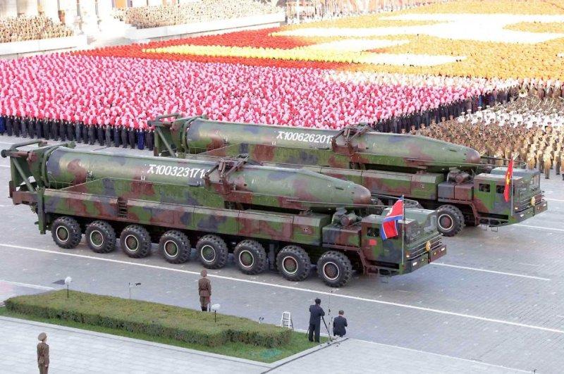 North Korean Military might
