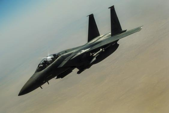boeing receives contract for f 15 eagle targeting pods upi com