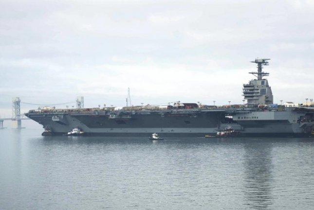 The supercarrier USS Gerald Ford is one of the most expensive carriers ever made for the U.S. Navy. U.S. Navy photo by Mass Communication Specialist Second Class Aidan P. Campbell