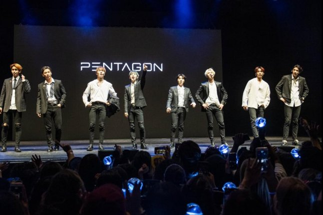 Pentagon debuted in 2016. The K-pop group is in the midst of its Prism tour. Photo byTimothy Norris