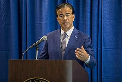California Attorney General Rob Bonta on Wednesday announced charges against Alma Hernandez, the head of Service Employees International Union California.Photo courtesy of California Attorney General Rob Bonta/Website