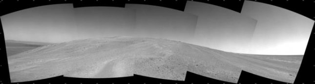 Panoramic view of Salander Point captured by Opportunity. Credit: NASA/JPL