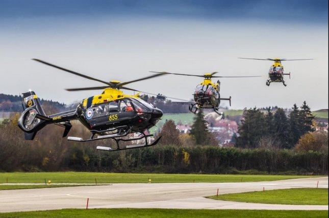 The EC135 T2+ is the latest variant of the H135 family of training helicopters. Photo courtesy Airbus Helicopters