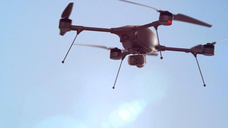 Lockheed Martin's Indago drone. Photo courtesy of Lockheed Martin