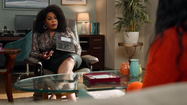 Niecy Nash stepped in as Dr. Ryan for Never Have I Ever reshoots. Photo courtesy of Netflix