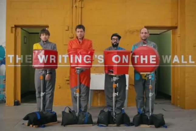 OK Go unveils another elaborate music video: 'The Writing's