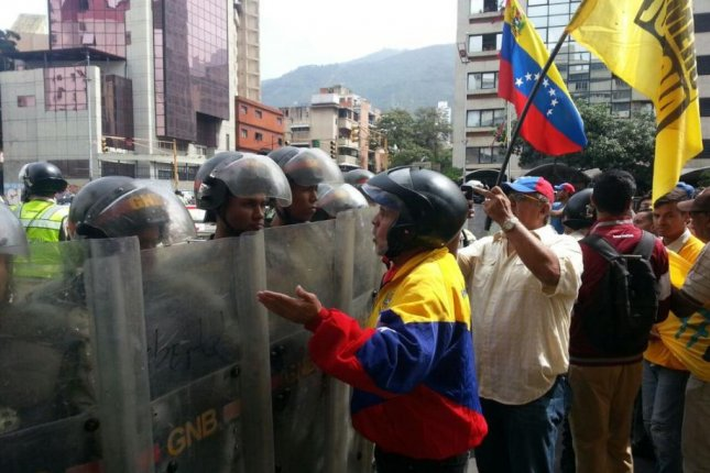 The Venezuelan opposition is staging a nationwide protest on Thursday to call for a recall of President Nicolas Maduro, who took office in 2013 following the death of President Hugo Chavez. Photo courtesy of Diputado LEON