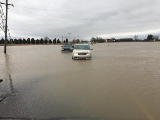 Flooding cuases evacuations in south and midwest