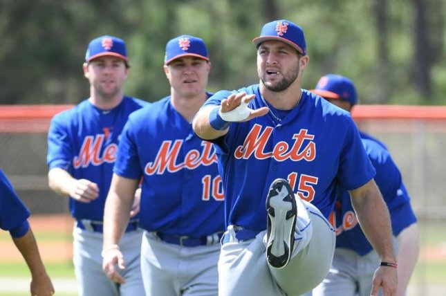 Tim Tebow to make spring training debut with Mets on Wednesday