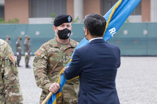 Gen. Paul LaCamera took over command of U.S. Forces Korea on Friday at a ceremony held at Camp Humphreys, the headquarters of USFK in Pyeongtaek, South Korea. Photo courtesy of U.S. Forces Korea
