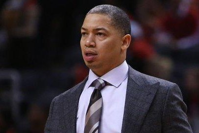 The Los Angeles Lakers will have a second sit-down with former reserve Tyronn Lue about their coaching position. Lue won two NBA titles as a player for the Lakers in 2000 and 2001. Photo courtesy of Twitter/SportsCenter