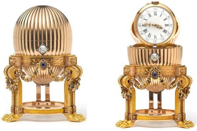 Scrap metal dealer finds lost Fabergé egg. (Credit: Wartski.com)