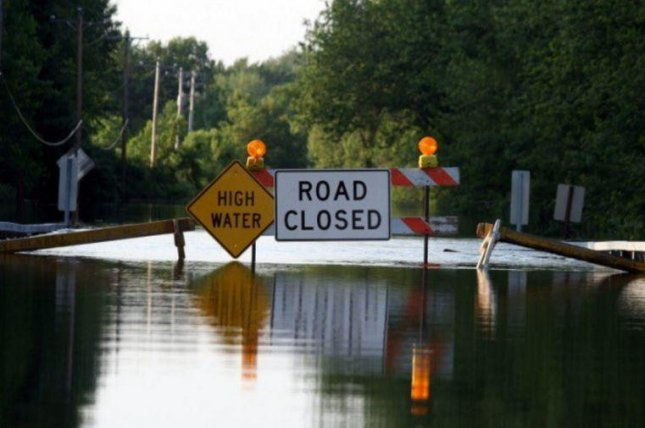 Heavy rain and severe flooding in southeast Texas has led to the deaths of at least five people, officials said Monday, as the city of Houston warns its residents to take caution on streets and in the neighborhoods hardest hit. Photo courtesy Texas Department of Transportation/Twitter