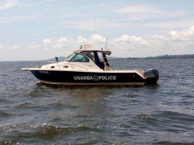 The Ugandan Police Force is searching for bodies after at least 31 people were killed when a party boat collapsed on Lake Victoria Saturday. Photo courtesy Uganda Police Force
