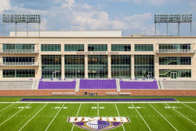 The University of Mary Hardin-Baylor football team is 4-0 in 2019 and face East Texas Baptist University Saturday at Crusader Stadium (pictured) in Belton, Texas. Photo courtesy of Wikimedia Commons