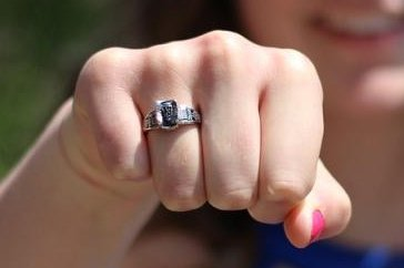 A class ring lost in Maine in 1973 turned up 47 years later buried in a park in Finland. Photo bylisabussell/Pixabay.com