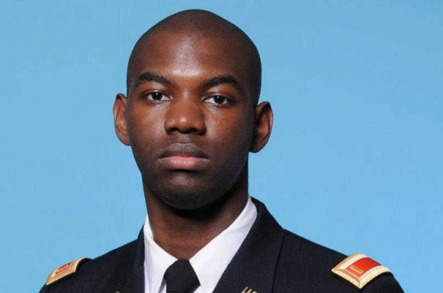 National Guard 1st Lt. Trevarius Ravon Bowman, 25, pictured here while a second lieutenant, died this week in Afghanistan, according to the Pentagon. Photo courtesy of U.S. Army