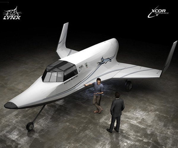 Visitors to the Kennedy Space Center exhibit will have the chance to win a trip aboard the two-seat XCOR Aerospace Lynx aircraft. Photo/XCOR Aerospace
