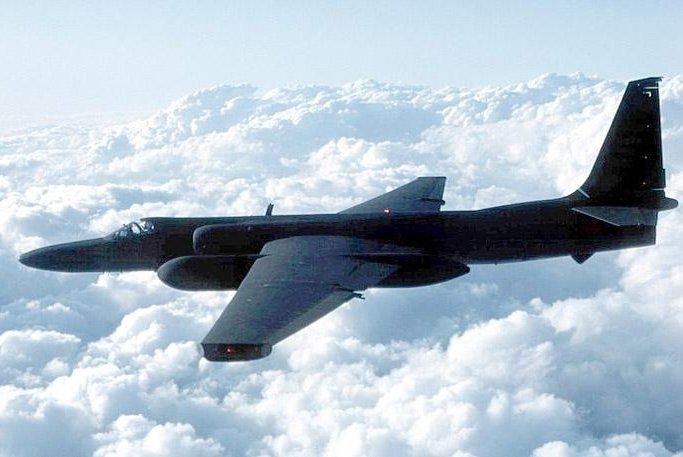 U-2 spy plane. Photo by United States Air Force.